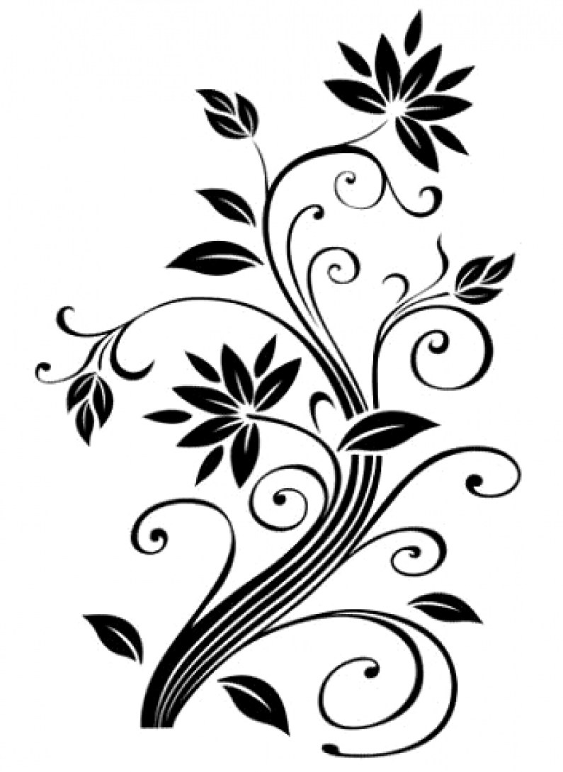 795x1090 Flower Design Drawing At Getdrawings Com Free For Personal Use
