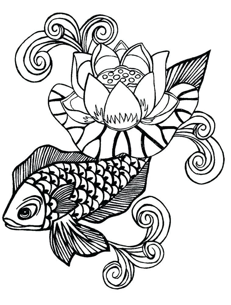 758x1000 Flower Designs To Draw Flower Design Black And White Original Hand