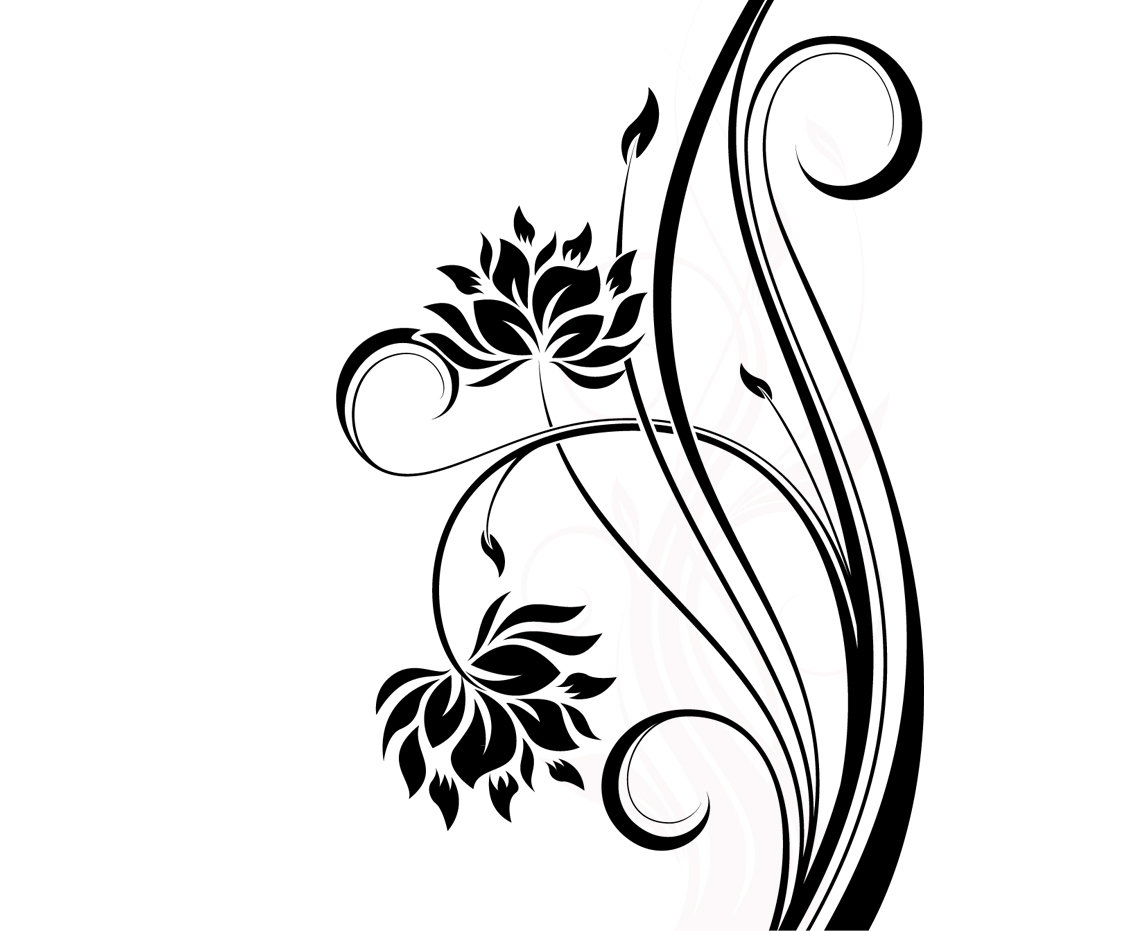 1131x931 Simple Flowers Pattern Drawing Flower Design Drawing