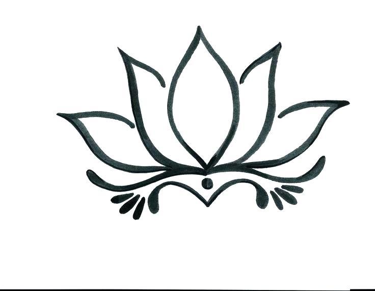 736x571 Draw A Simple Flower