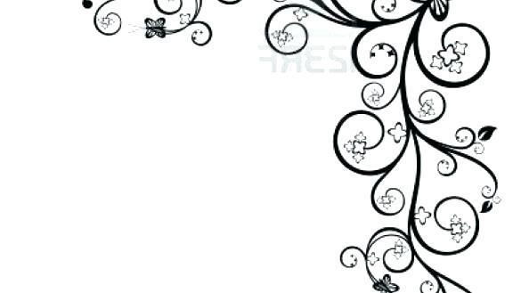 585x329 Flower Design Drawing