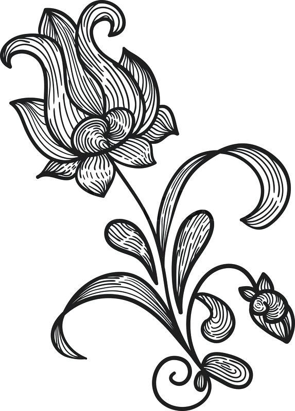 573x800 Pretty Simple Flowers To Draw