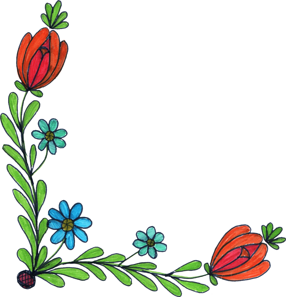 Flower Drawing Background Free Download On Clipartmag