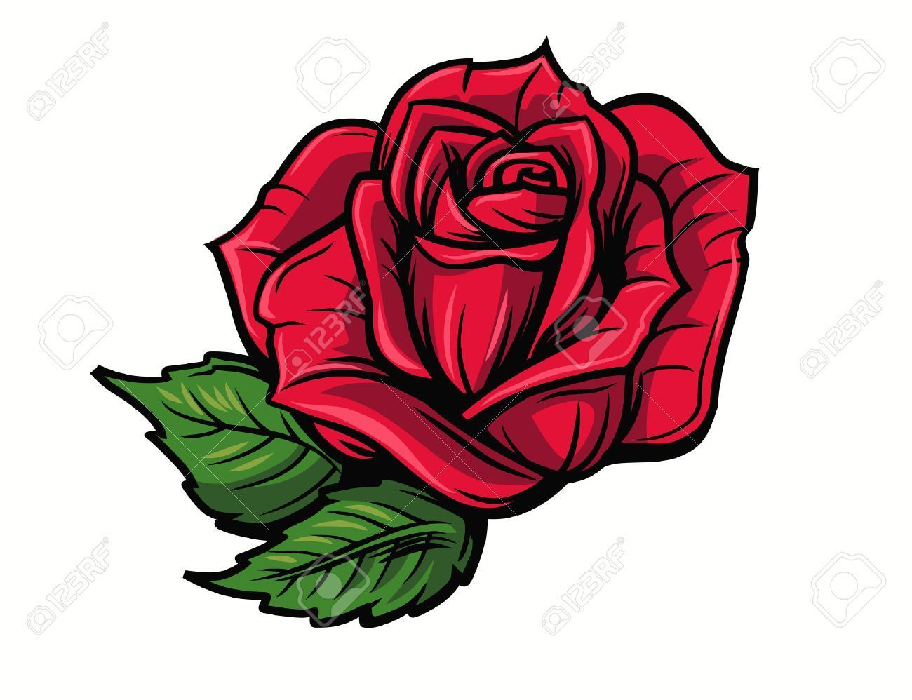 1300x998 Rose Flower Cartoon Clip Art Free Vector And Clipart Ideas In Rose