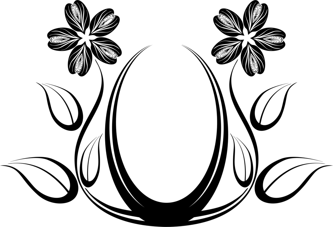 Flower Drawing Clipart
