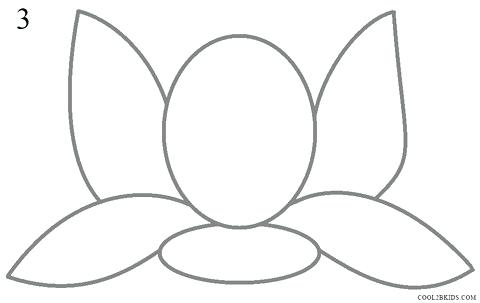 480x303 Lotus Drawing For Kids How To Draw Lotus Flower Step Architects