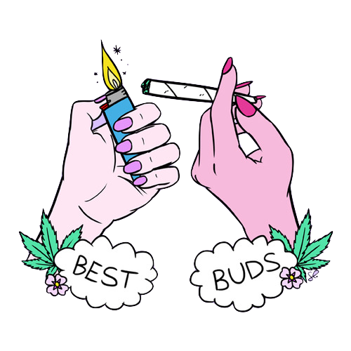 500x500 Collection Of Free Blunt Clipart Transparent Tumblr Amusement