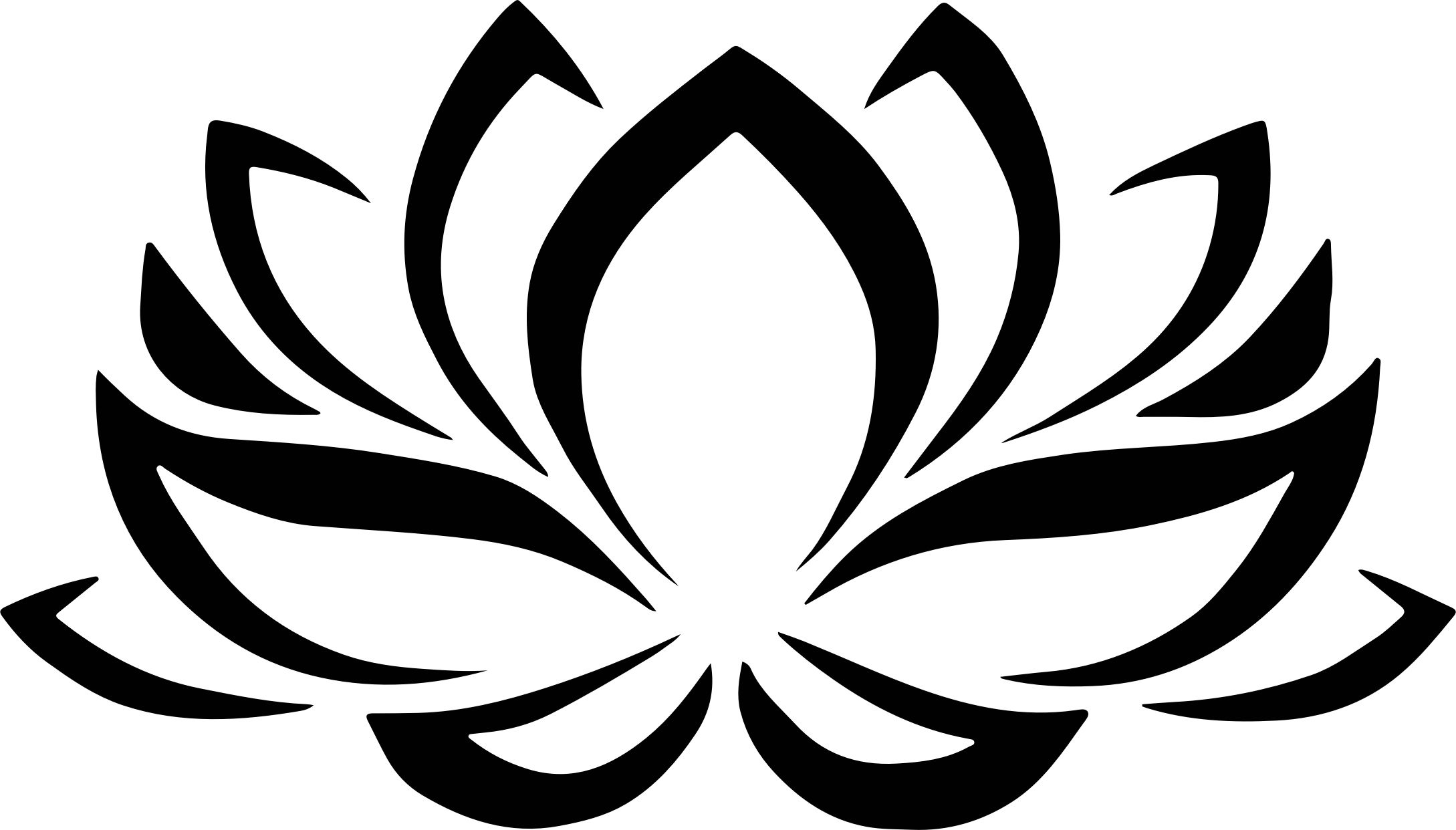 2178x1242 great ink ideas ink flower silhouette, lotus drawing, flower