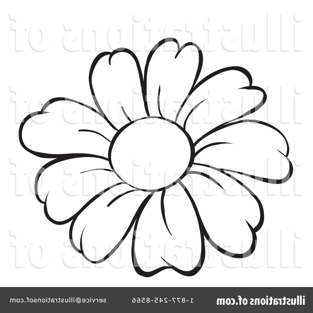 1024x1024 Line Art Drawings Flowers