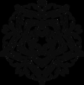 296x300 Flower Line Drawing Clip Art Free