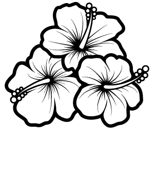 306x344 Flower Line Clipart