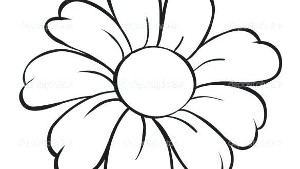 585x329 Free Flower Drawings