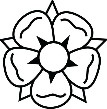 419x425 flower drawing clipart grave flower drawing flower line drawing