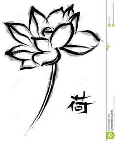Flower Lotus Drawing