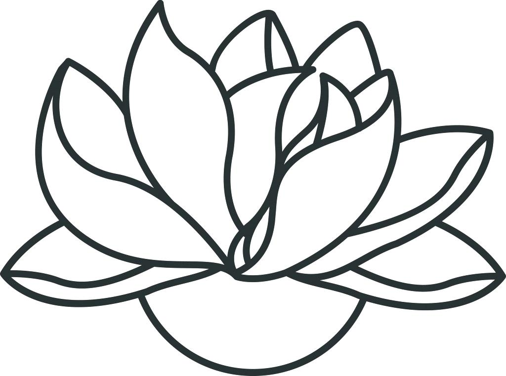 1024x761 draw lotus lotus drawing easy to draw lotus flower