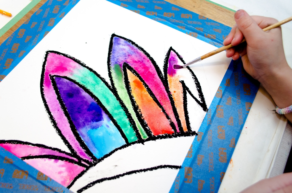 1020x675 How To Make A Beautiful Watercolor Flower Painting Projects