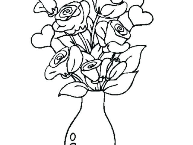 640x480 flower vase design sketch vases drawings with flowers flower vase