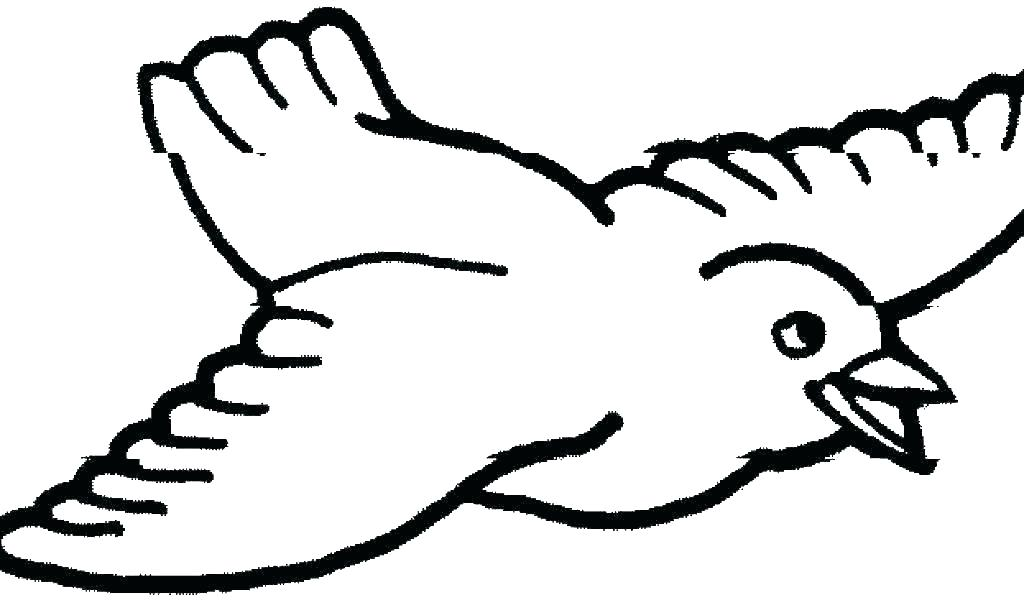 1024x600 Printable Coloring Pages Of Birds And Flowers