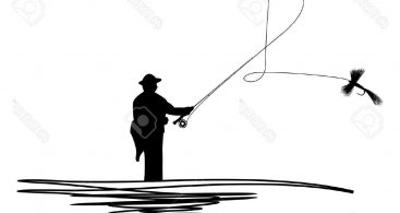 367x195 Fly Fishing Casting Silhouette Archives