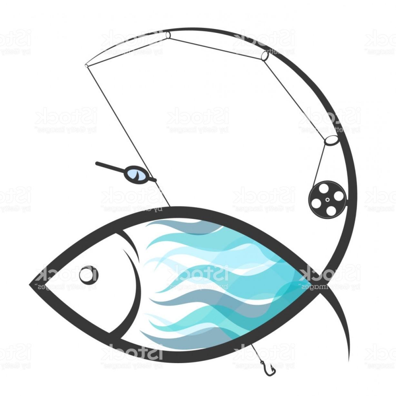 1228x1228 Fly Fishing Rods Vector Art Studiogrfx