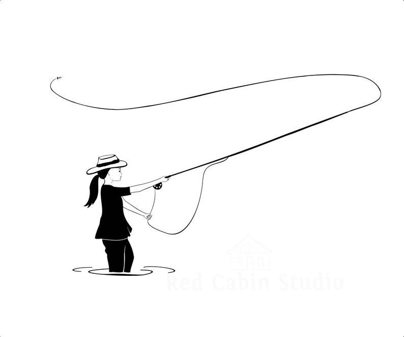 794x661 fly fishing girl cutting fishing fly t