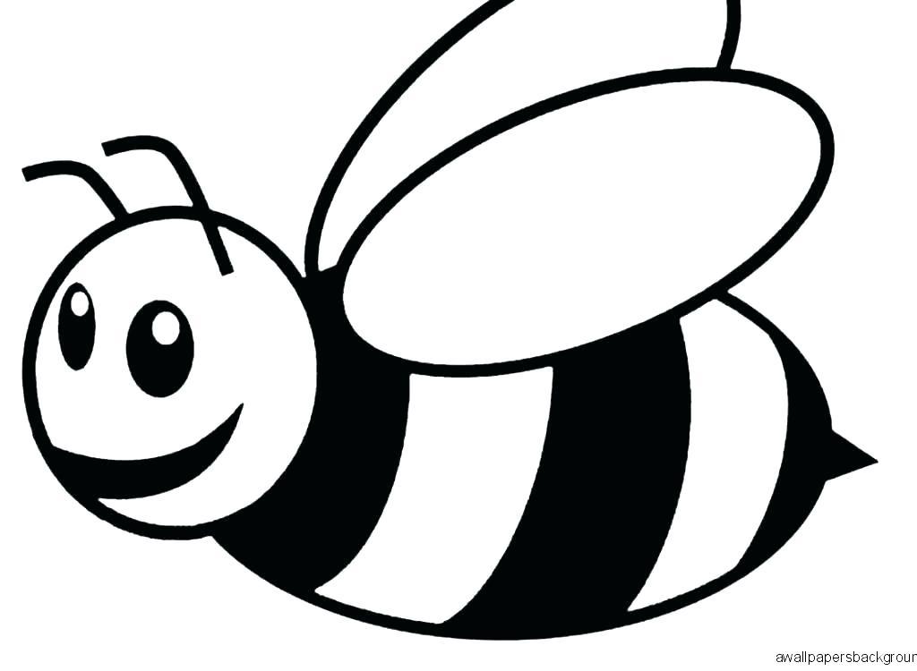 1024x750 Drawing Of Bumblebee