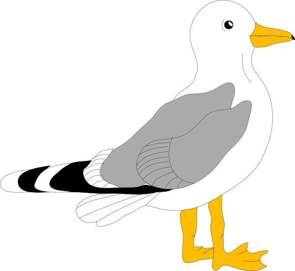 600x551 Animated Clipart Of Flying Seagulls