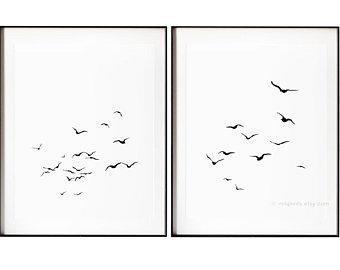 340x270 Bird Ink Drawings Etsy