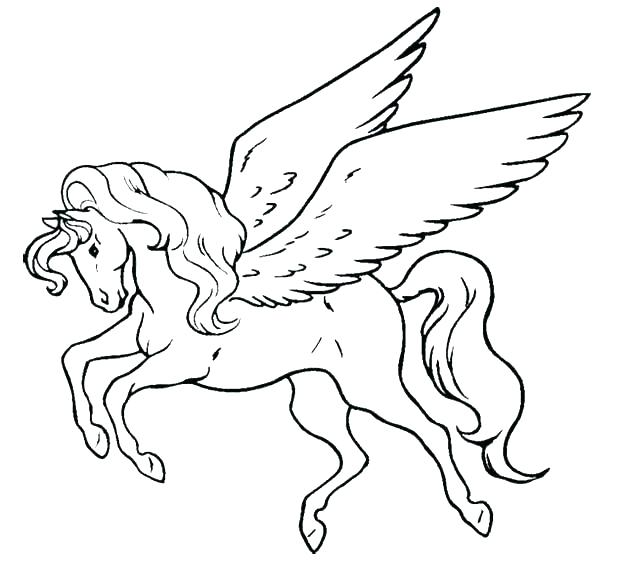 620x571 Flying Unicorn Coloring Pages Baby Unicorn Coloring Pages Baby