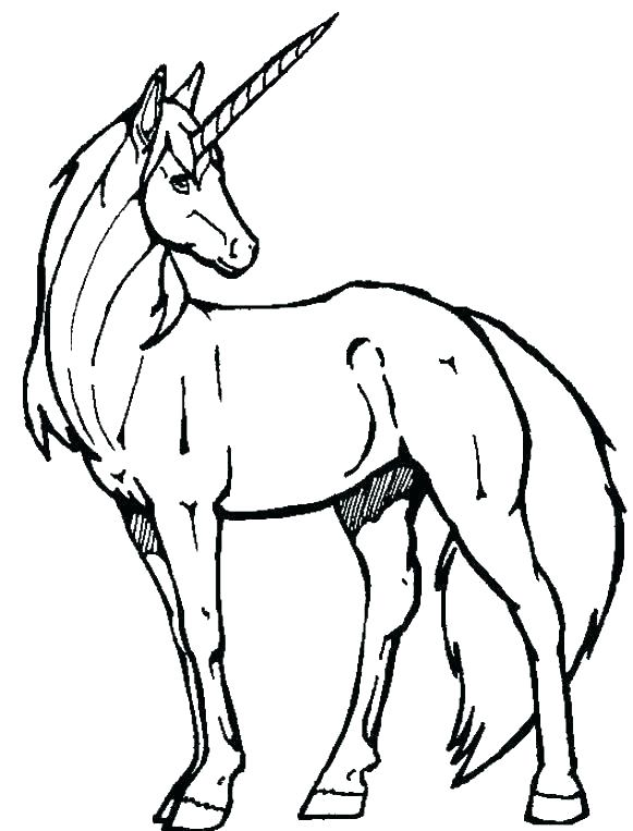 581x763 Flying Unicorn Coloring Pages Printable