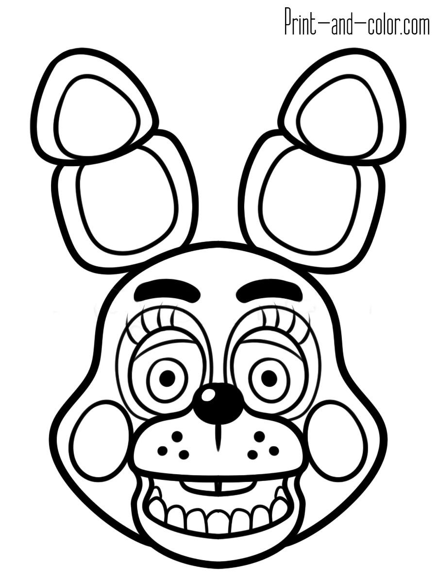 Fnaf Characters Drawings