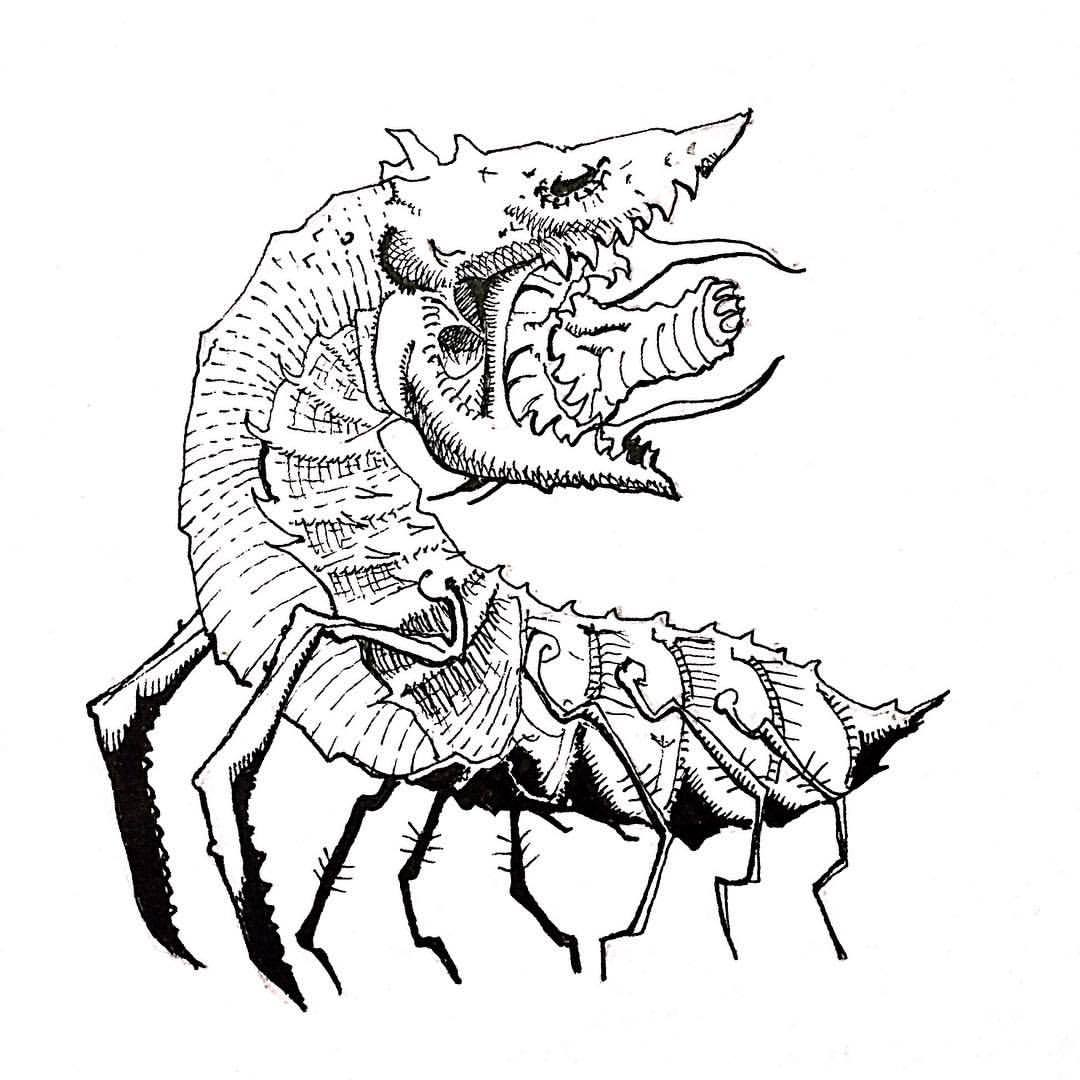 1080x1080 Monster Drawing Claw For Free Download
