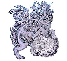 220x200 Foo Dog Art Prints