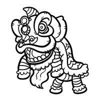 200x200 Image Result For Lion Dance Drawing Dragon Dancing Drawings