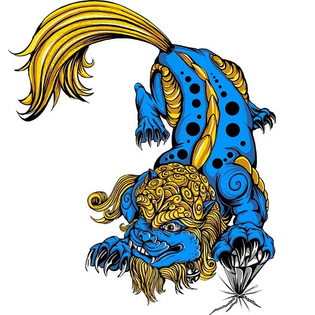640x640 Josh Garner Found This Foo Dog Prowling Around My Archives