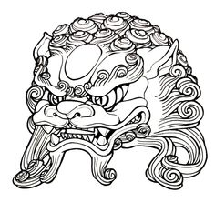 236x222 Best Foo Dog Images In Dog Tattoos, Foo Dog, Oriental