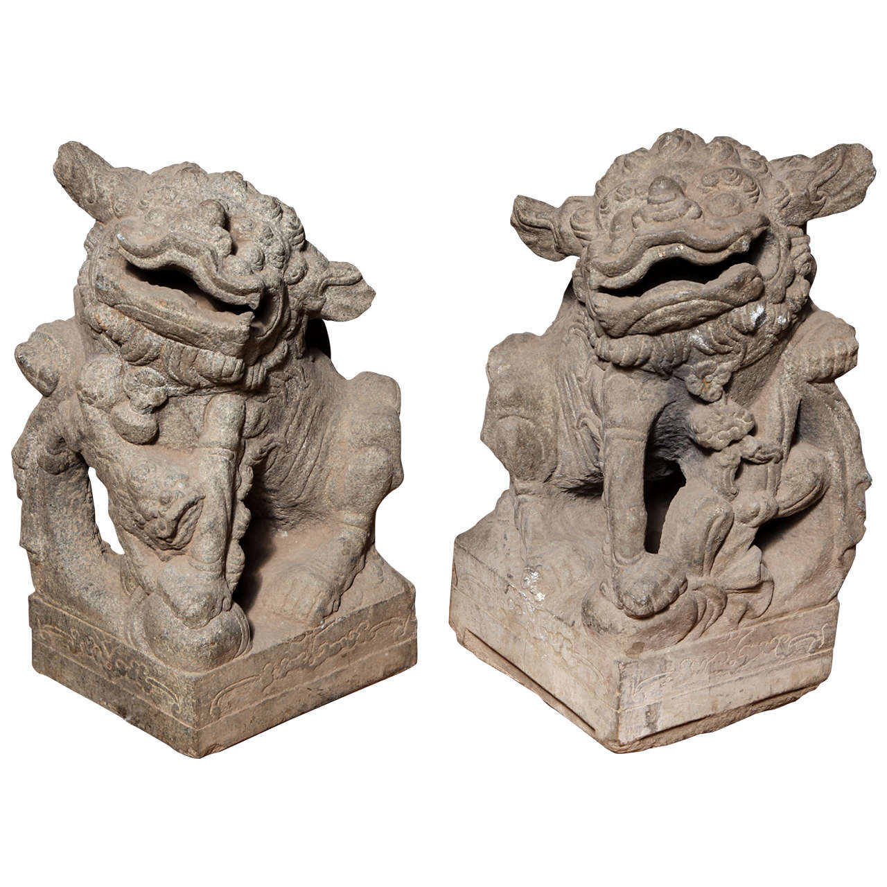 1280x1280 Tips Antique Foo Dogs Statues For Your Home
