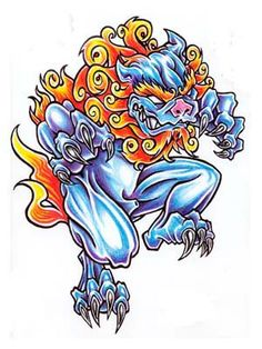 236x314 Amazing Foo Dog Images Tattoo Japanese, Japanese Tattoos