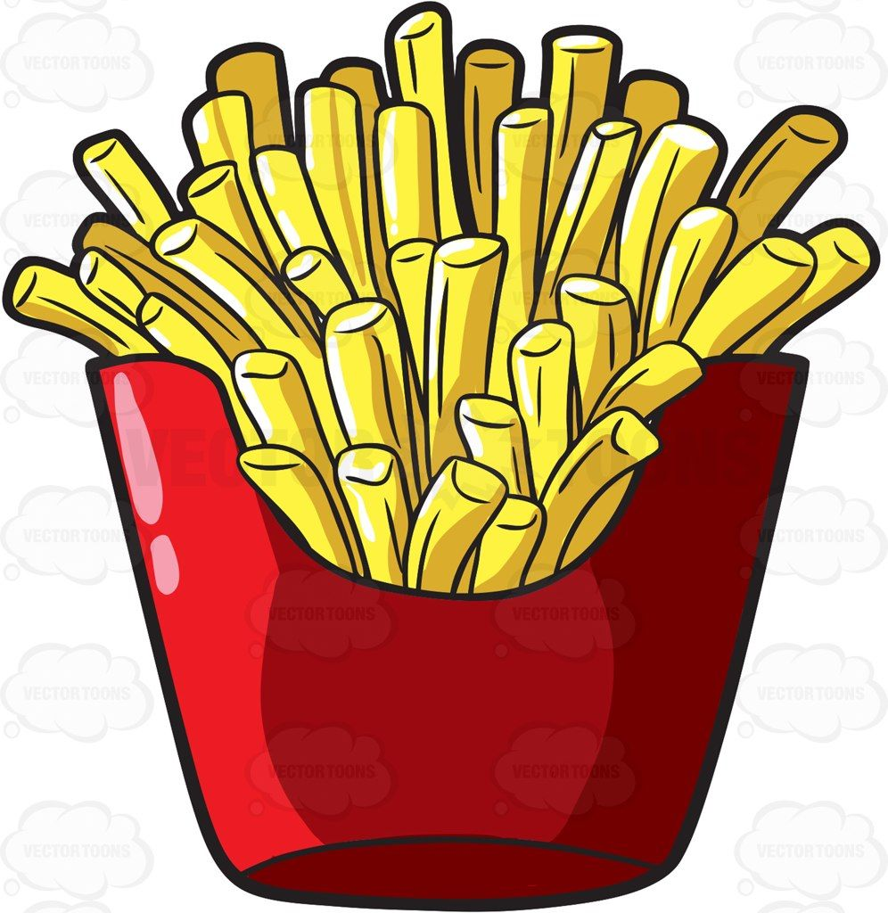 996x1024 A Serving Of French Fries From A Fast Food Chain