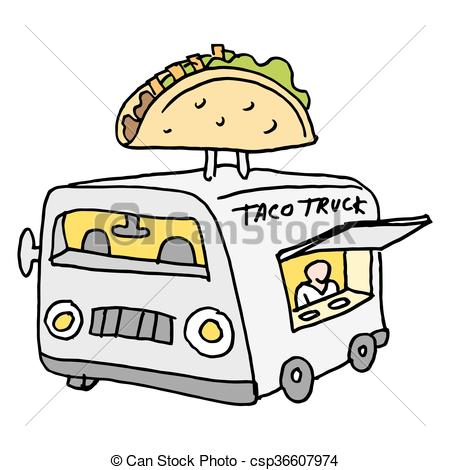 450x470 An Image Of A Mexican Taco Food Truck