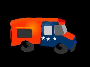 300x225 Food Truck Vector Drawing