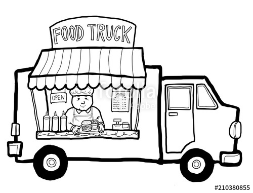500x381 Street Food Truck Stock Photo And Royalty Free Images On Fotolia