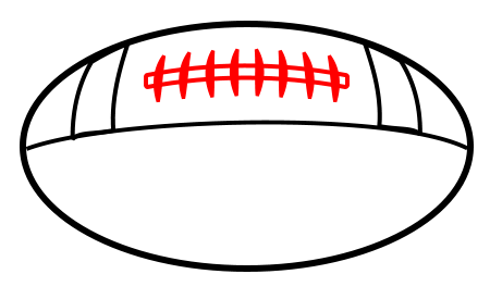 450x275 Drawing A Cartoon Football