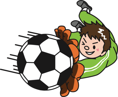 414x340 Goal Drawing Cartoon Transparent Png Clipart Free Download