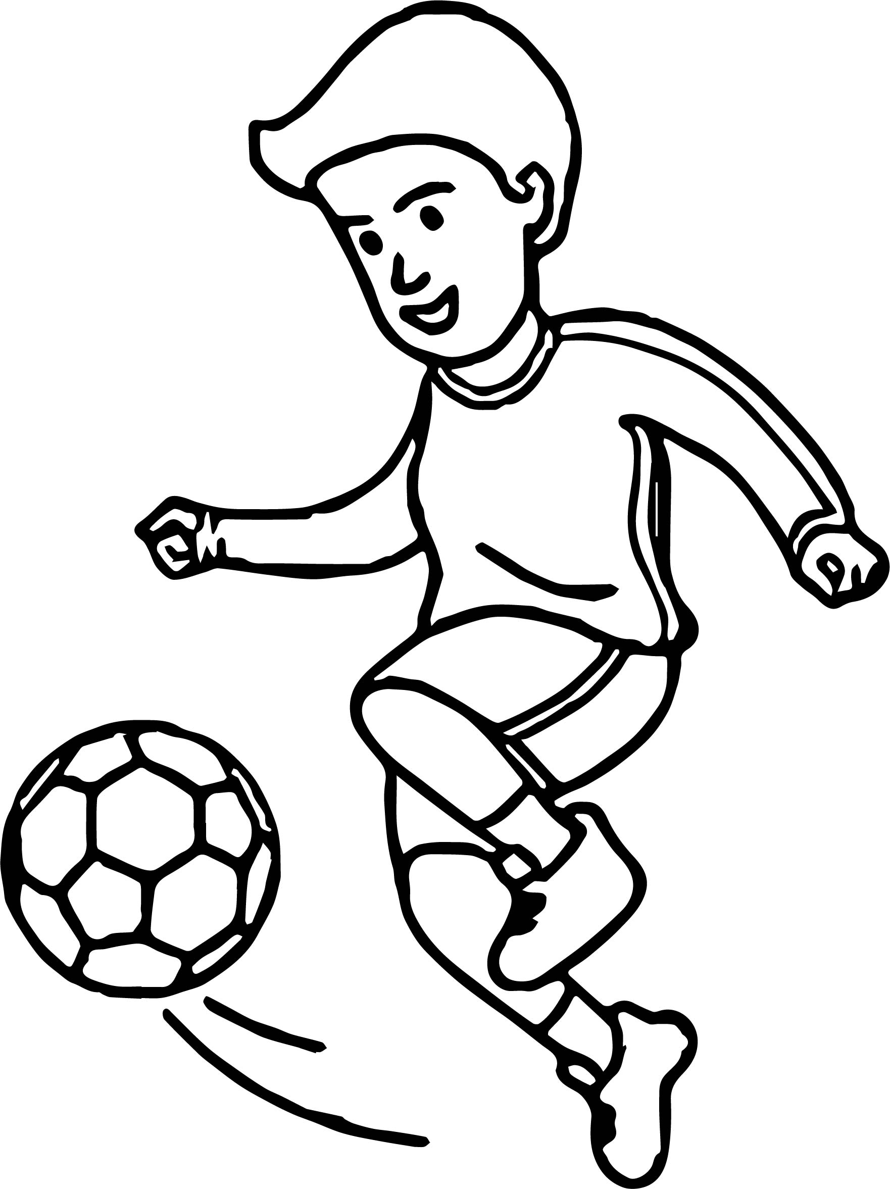 Football Drawing Pictures
