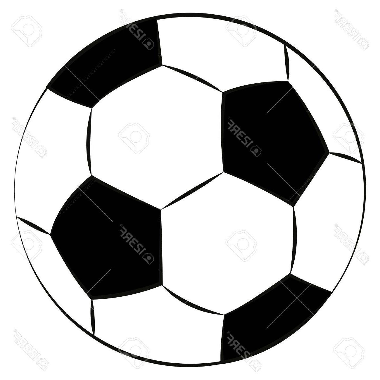 1300x1300 Hd Football Outline Template Vector Drawing Free Vector Art