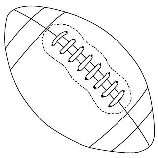 320x320 How To Draw A Football Jjs Bday Football Quilt, Football