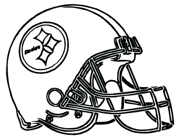 700x541 Football Outline Template Free Printable Helmet Vector