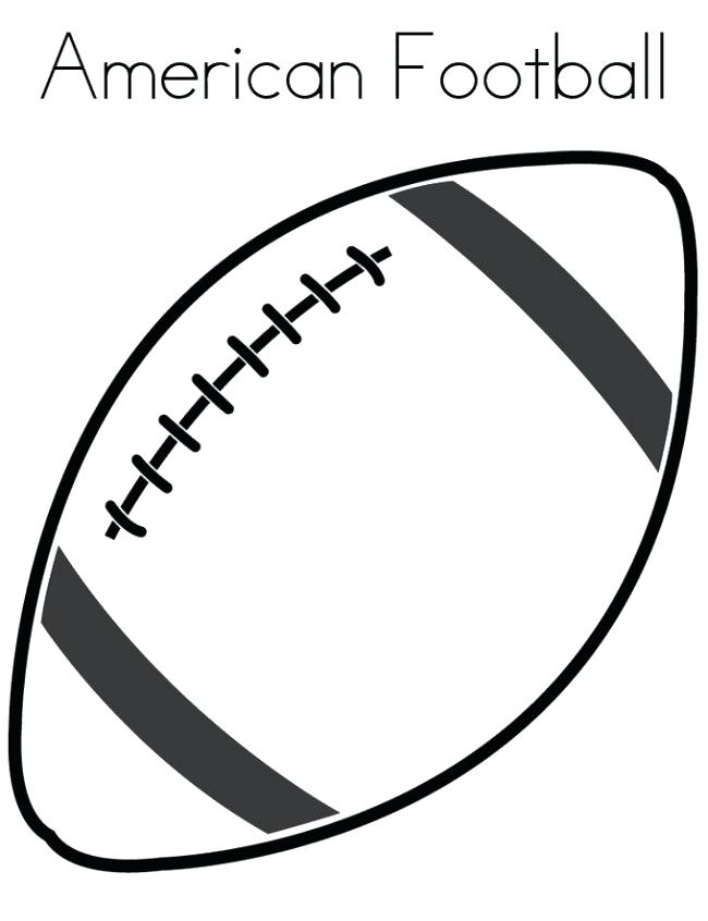 650x846 Football Drawing Template