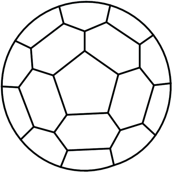 728x727 Soccer Ball Template